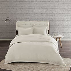 Urban Habitat Comfort Wash Duvet Cover Twin/Twin XL Size - Ivory, Solid Duvet Cover Set - 2 Piece - 100% Cotton Light Weight Bed Comforter Covers
