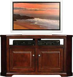 Eagle Furniture Savannah 56 in. Corner Entertainment Center - 92564WPCR