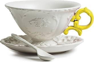 Seletti I-Wares Porcelain Tea Set - Yellow