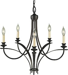 Feiss F1888/5ORB Boulevard Chandelier in Oil Rubbed Bronze finish