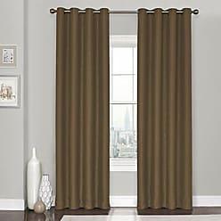 Ellery Homestyles KOZDIKO Eclipse Clara Curtain Panel, 52 x 84, Amber