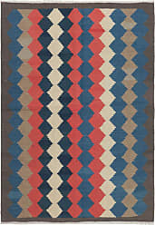 Nain Trading Hand Woven Kilim Fars 68x49 Dark Grey/Dark Blue (Wool, Iran/Persia)