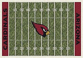 Milliken Carpet Arizona Cardinals NFL Team Home Field Area Rug by Milliken, 310 x 54, Multicolored