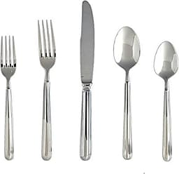 Fortessa Metropolitan 18/10 Stainless Steel Flatware 20 Piece Place Setting, Service for 4