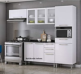 Itatiaia Cozinha Compacta 3 Peças sem Balcão Dandara Itatiaia Branco