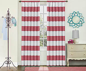 Ellery Homestyles ECLIPSE Blackout Curtains for Bedroom - Peabody 42 x 63 Insulated Darkening Single Panel Rod Pocket Window Treatment Living Room, Peony