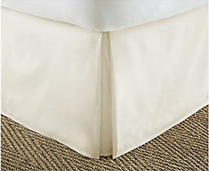iEnjoy Home IEH-BEDSKIRT-TWIN-CREAM Home Collection Pleated Bed Skirt, Twin, Cream