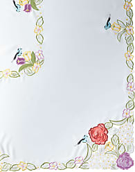 SFERRA Springtime 72 x 90 Tablecloth & 8 Napkins