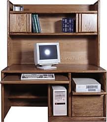 Forest Designs Customizable Contemporary 1061 Computer Desk - 1061-B