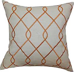 The Pillow Collection Jolo Geometric Bedding Sham Papaya King/20 x 36