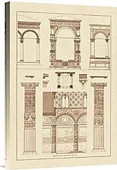 Bentley Global Arts Global Gallery Budget GCS-394616-1624-142 J. Buhlmann Arcades Gallery Wrap Giclee on Canvas Wall Art Print