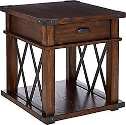 Progressive Furniture P527-04 Landmark Rectangular End Table, Brown