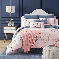 Five Queens Court Blakely Floral 3 Piece Comforter Set, Rose, King 110x96