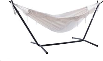 Ashley Furniture Patio Double Hammock with Stand, Natural