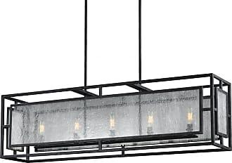 Feiss Prairielands 5 - Light Chandelier in Dark Weathered Zinc