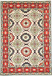 Nain Trading Oriental Kazak Rug 56x311 Orange/Pink (Wool, Afghanistan, Hand-Knotted)
