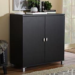 Baxton Studio Marcy Sideboard Cabinet - HS-001-ESPRESSO