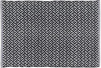 Now Designs 24 by 36 inch Diamond Weave Kitchen Mat, Black