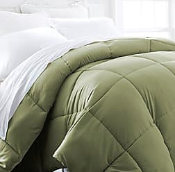iEnjoy Home Hotel Collection 1500 Series - Lightweight - Luxury Goose Down Alternative Comforter - Hotel Quality Comforter and Hypoallergenic - Full/Queen - Sage