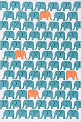 Now Designs Cotton Kitchen Towel, Edgar Elephant Print