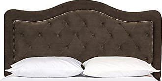 Hillsdale Furniture Hillsdale Furniture 1554HQRT Trieste Headboard with with Rails, Queen, Chocolate