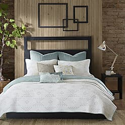 Ink + Ivy Pacific 140TC Coverlet Set, Full/Queen, Blue