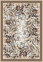 Milliken Carpet Pastiche Collection Barrington Court Oval Area Rug, 54 x 78, Ecru