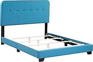 Boraam 95151 Helene Box Full Bed, Blue