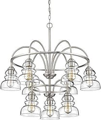 Millennium Lighting Chandelier Ceiling Light in Satin Nickel