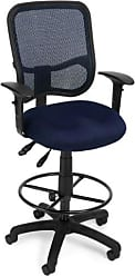 OFM 130-AA3-DK-A04 Mesh Comfort Series Ergonomic Task Chair with Arms and Drafting Kit