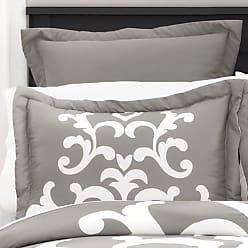 Lush Décor 6-Piece Lavish Damask Comforter Set - Gray - Size:King