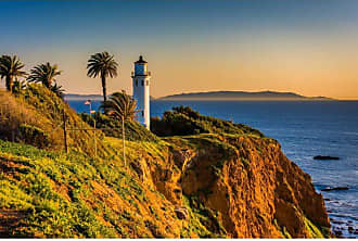 Noir Gallery Point Vicente Lighthouse in Rancho Palos Verdes on Canvas - RPV-01-TW-08