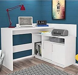 Olivar Móveis Escrivaninha Mega Office Branca - única