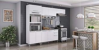 Itatiaia Cozinha Completa 4 peças com Fogão 4 Bocas com Acendimento Automático Luana FL Itatiaia Branco