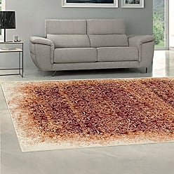 Home City Inc. Superior Quality Soft, Plush and Durable 10mm Moisture and Mildew Resistant Apollonia Collection Area Rug, 5 x 8 Orange