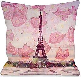 One Bella Casa 73710PL16 Pillow 16 x 16 Pink