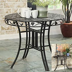 4D Concepts Outdoor 4D Concepts Ivy League 36 in. Half Round Patio Table - 123780