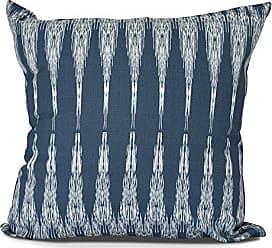 E by Design E by design PG863BL14-16 Peace 1 Decorative Geometric Throw Pillow, 16, Navy Blue
