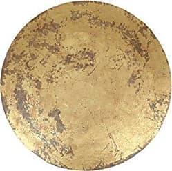 Moe's IX-1020-32 Wall Sculpture, Gold