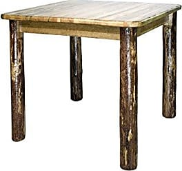 Montana Woodworks MWGCDT4PS36 Glacier Country Collection Counter Height Square 4 Post Dining Table