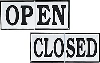 Foreside Home And Garden Open Or Closed Sign White