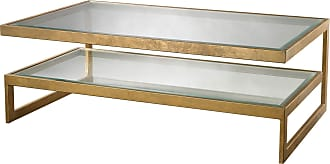 Dimond Home Gold Leaf Key Coffee Table