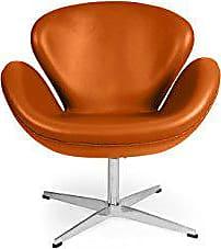 Kardiel Trumpeter Chair, Caramel Aniline Leather
