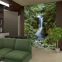 Ideal Decor Waterfall In Spring Wall Mural - DM364