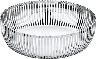 Alessi PCH02/23 Round Basket, Silver