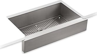Kohler Vault K3943-NA Single Bowl with Short Apron Undermount Kitchen Sink - K3943-NA