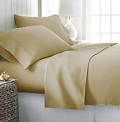 iEnjoy Home Simply Soft 4 Piece Sheet Set, Full, Gold