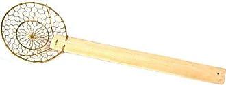 Fox Run Craftsmen Fox Run 2720 Small Brass Wire Skimmer, 3.5-Inch Diameter