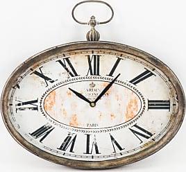 Zentique 12.5 in. Paris Oval Wall Clock - PC004