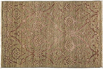 Solo Rugs Suzani Hand Knotted Area Rug 4 1 x 6 5 Beige